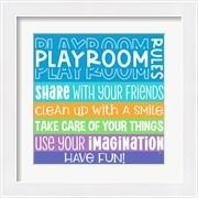 Playroom Rules I