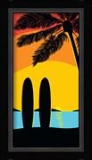 Sunset Surf Panel