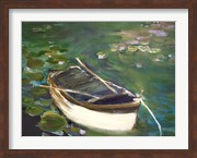 Rowboat with Lily Pads
