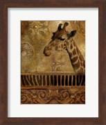 Elegant Safari III (Giraffe)
