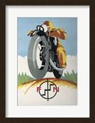 Art Deco Motorcycle Ad 1934