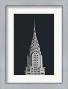 Chrysler Building on Black