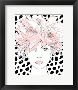 Floral Figures III Blush