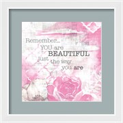 Textured Sentiment Pink I