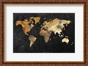 Dramatic World Map