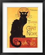 Tournee du Chat Noir (Yellow Background)