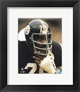 Joe Greene - Close up on sidelines