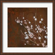 Cherry Blossoms on Cinnabar I