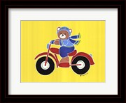 Bear on Motorcycle