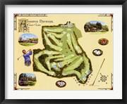 Golf Course Map-Augusta