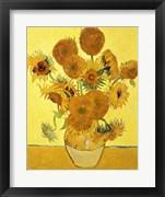 Sunflowers, 1888 yellow