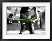 Green Skateboard