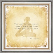 The Body is Your Temple