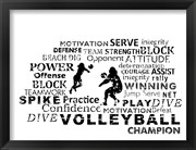 Volleyball Text