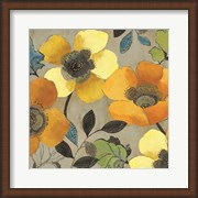 Yellow and Orange Poppies II