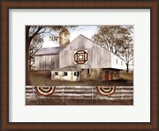 American Star Quilt Block Barn