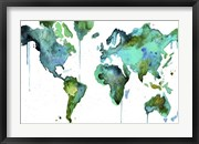 Watercolor Map No. 6