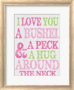 Bushel and A Peck