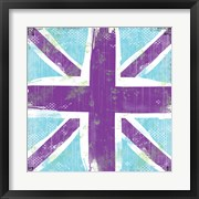 Union Jack Purple and Blue