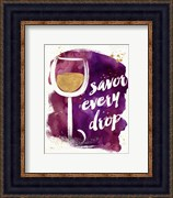 Watercolor Wine I