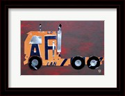 Semi Truck License Plate Art
