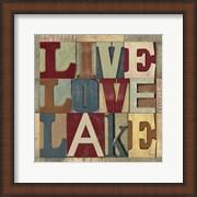 Lake Living Printer Blocks II