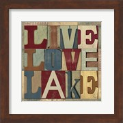 Lake Living Printer Blocks II
