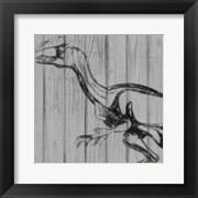 Dino On Wood II