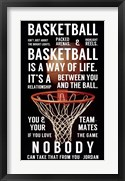 Basketball is a Way of Life