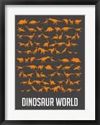 Dinosaur Orange
