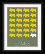 Eames Yellow Elephant 2