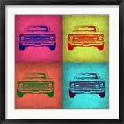 Chevy Camaro Pop Art 1