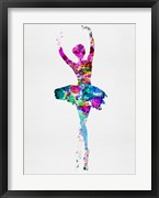 Ballerina Watercolor 1