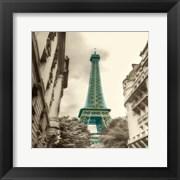 Teal Eiffel Tower 2