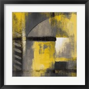 Grey and Yellow Soiree I