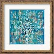 Mandala in Blue I