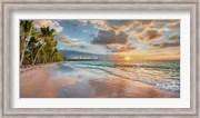 Beach in Maui, Hawaii, at sunset