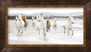 Horses on the beach (detail)