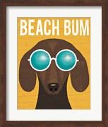 Beach Bums Dachshund I Bum