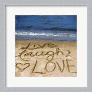Live Laugh Love In The Sand