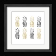 Black and Gold Pineapples