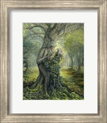 Dryad And The Tree Spirit