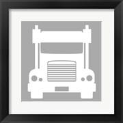 Front View Trucks Set I - Gray