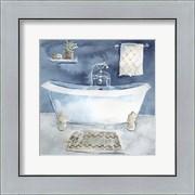 Watercolor Bathroom I