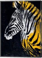 Framed Stained Safari II