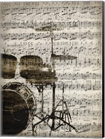 Framed Music Sheets 4
