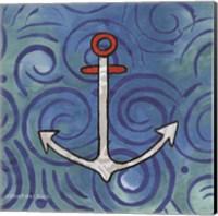 Framed Whimsy Coastal Anchor