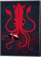 Framed Kraken Attaken