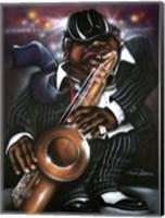 Framed Jazzman Moe