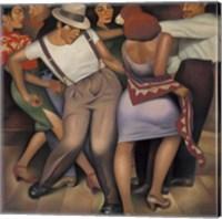 Framed Latino Jazz